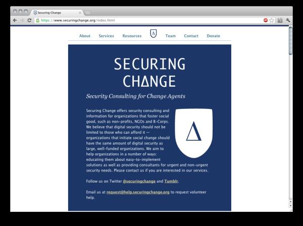 securingchange-screenshot